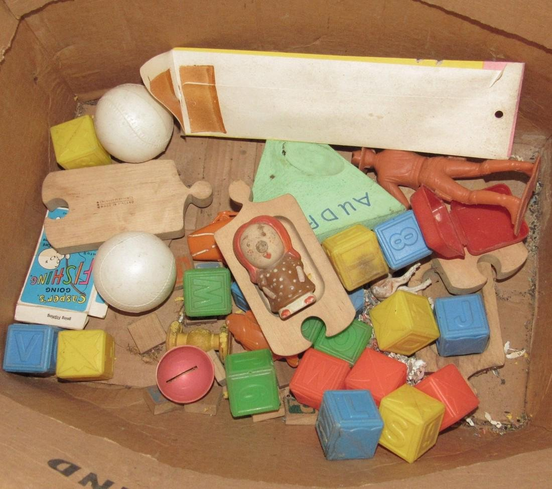 Misc Vintage Toys for Parts - 4