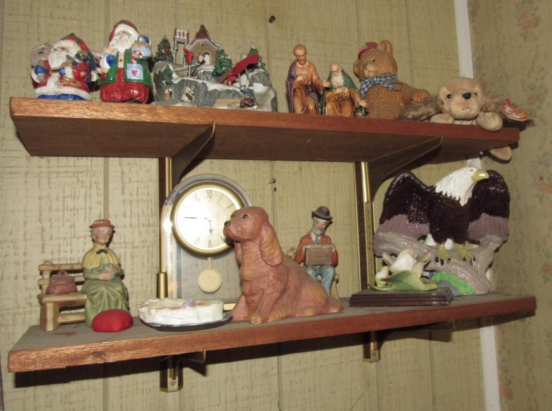 Lot of Knick Knacks Figurines