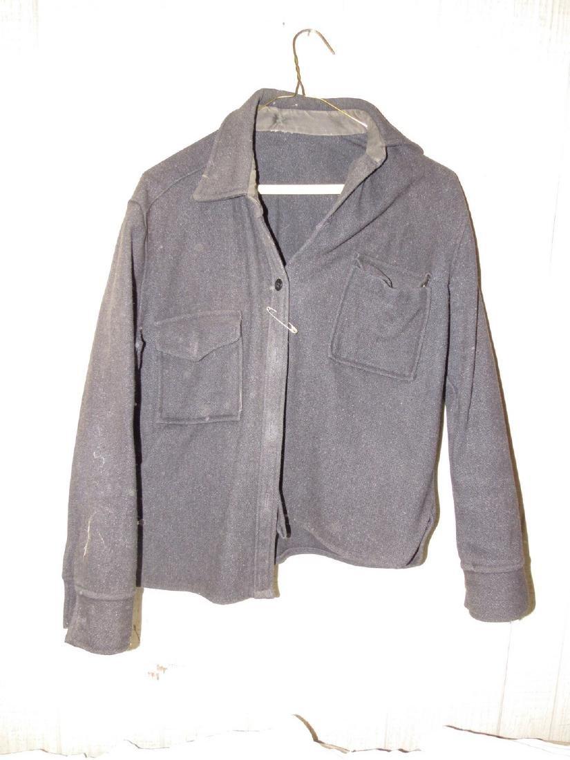 Antique / Vintage Button Down Wool Shirt
