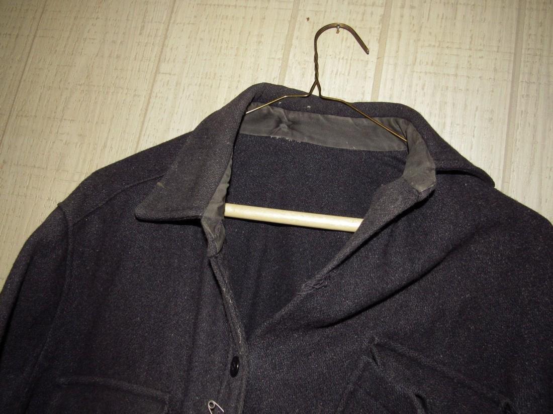 Antique / Vintage Button Down Wool Shirt - 2