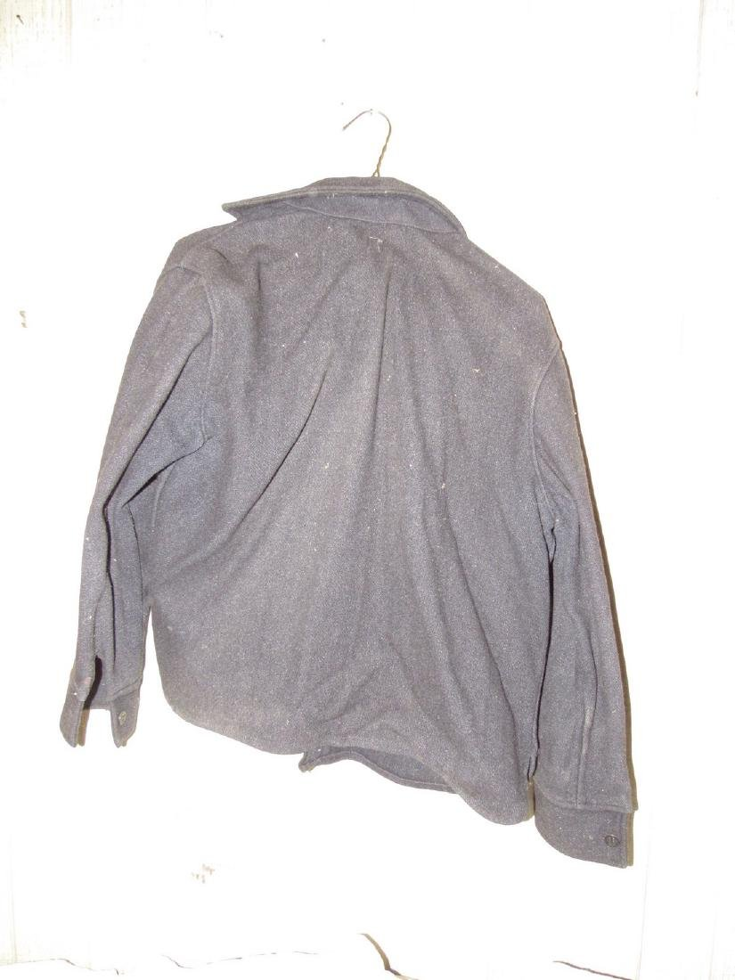 Antique / Vintage Button Down Wool Shirt - 4