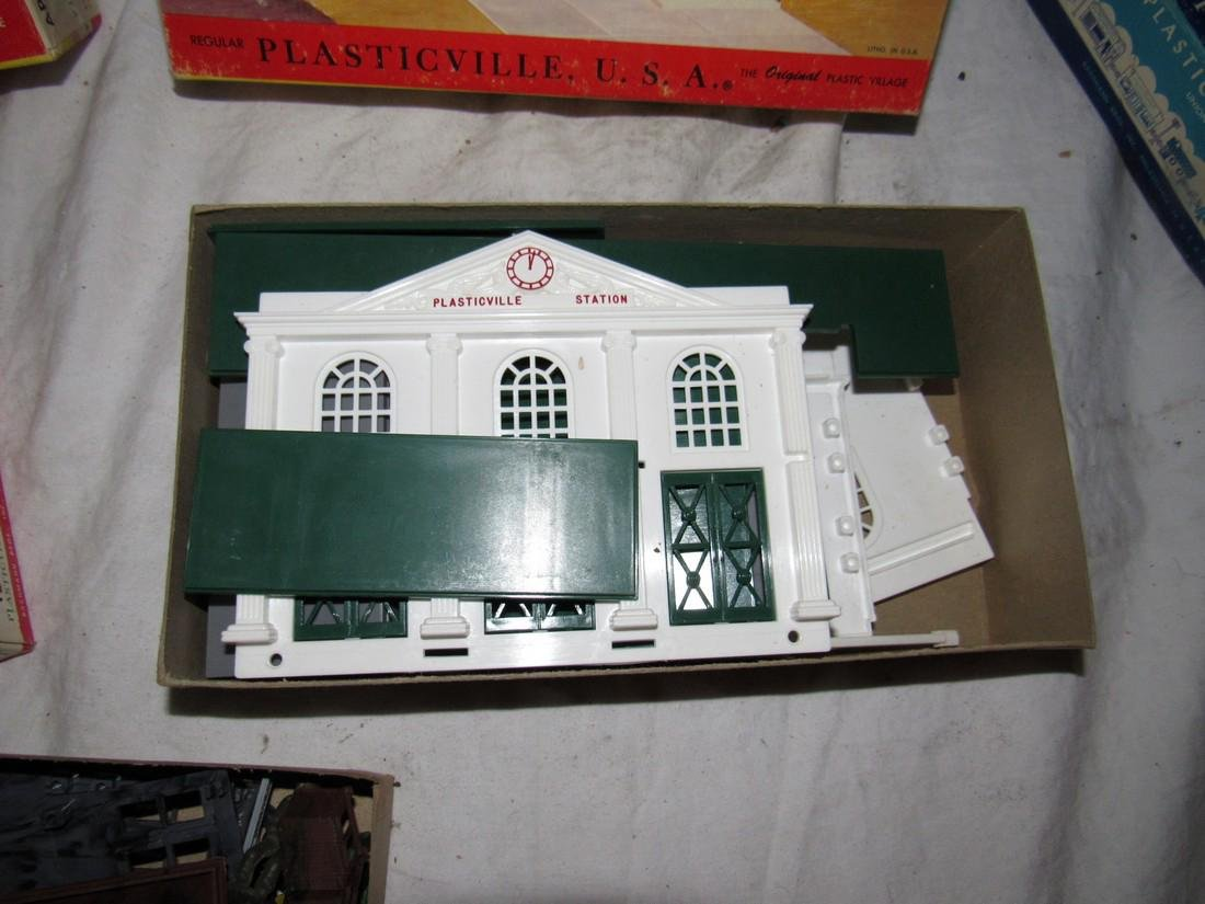 Plasticville Switch Tower Union Station Factory - 4