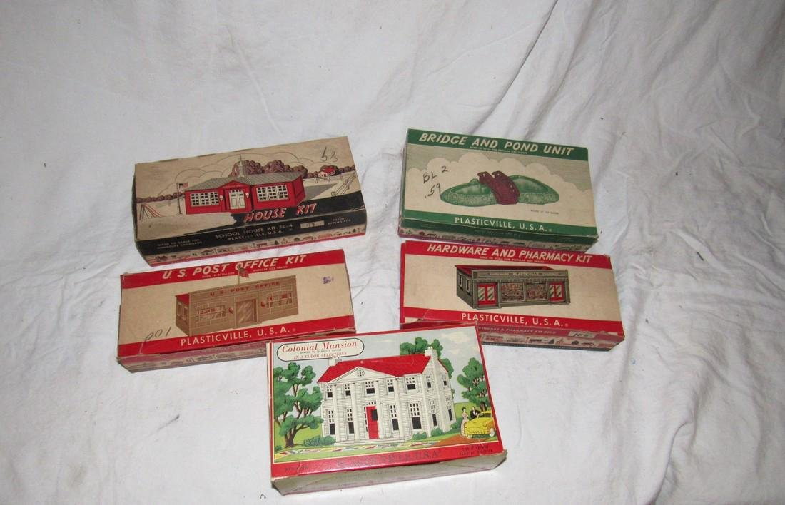 plasticville Colonial Mansion House US Post Office