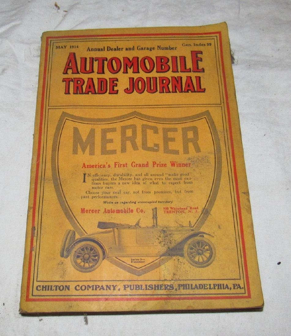1914 Mercer Automobile Trade Journal