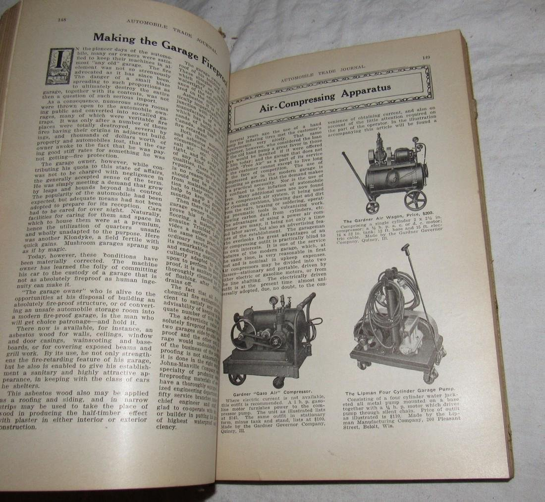 1914 Mercer Automobile Trade Journal - 2