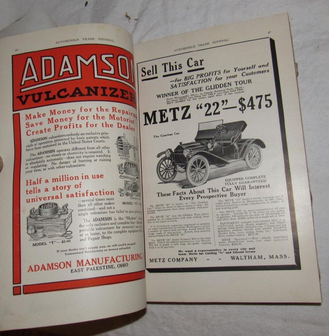 1914 Mercer Automobile Trade Journal - 4