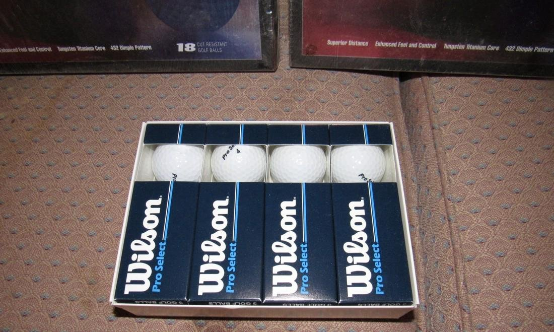 Nitro Tour Titanium & Wilson Pro Select Golf Balls - 2