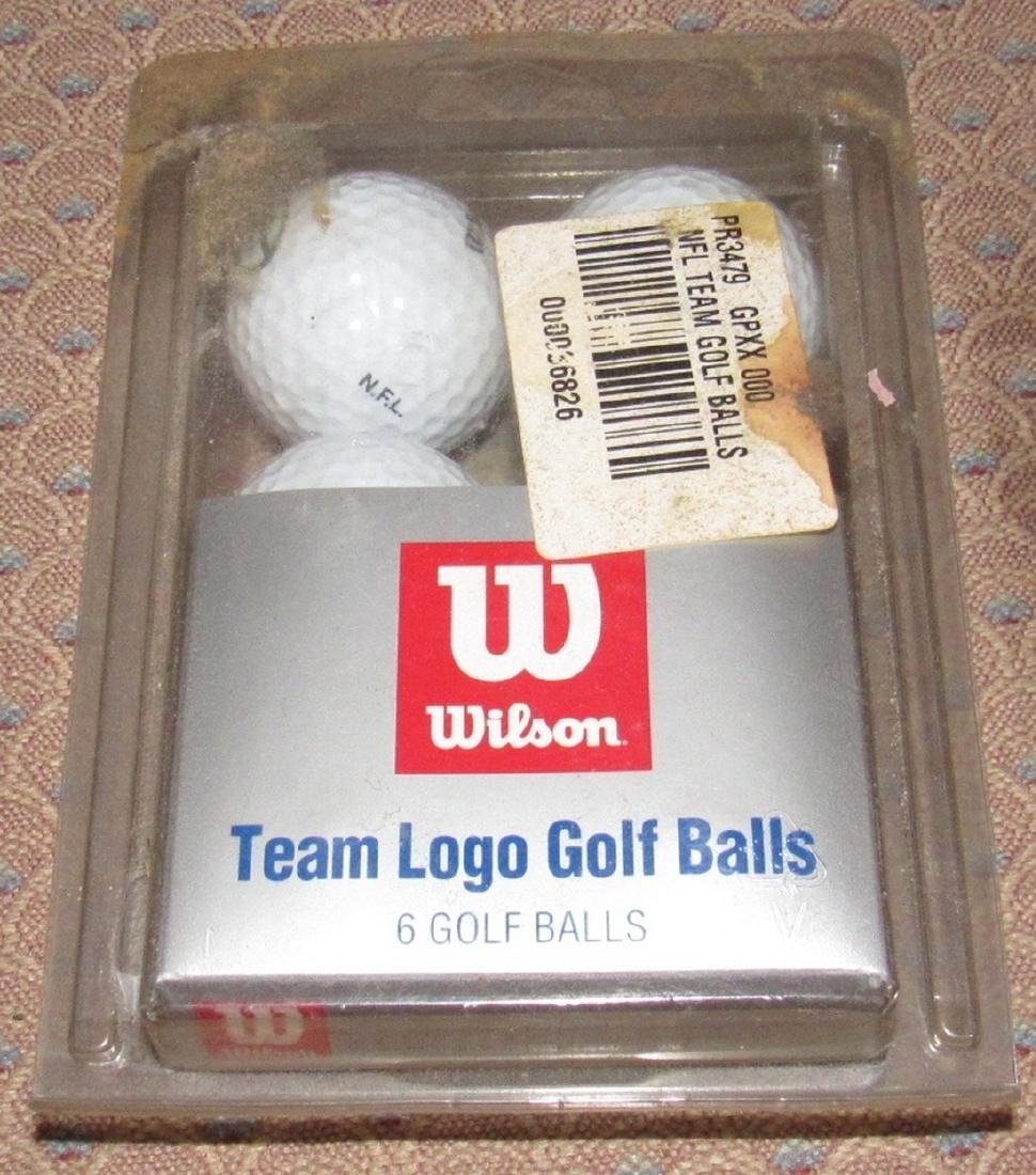 Nitro Tour Titanium & Wilson Pro Select Golf Balls - 4