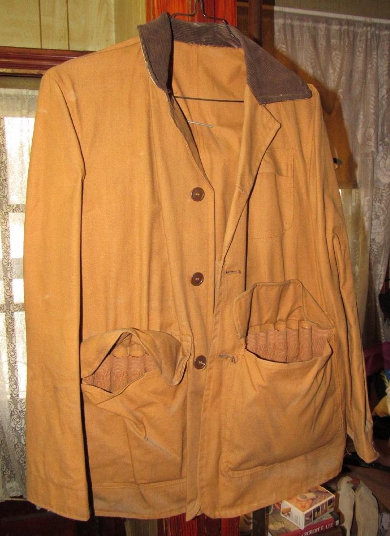 Hunting Jacket w/ 1959 NJ Hunting License - 3