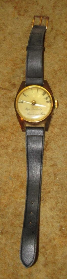 Unusual Wristwatch Transistor Radio