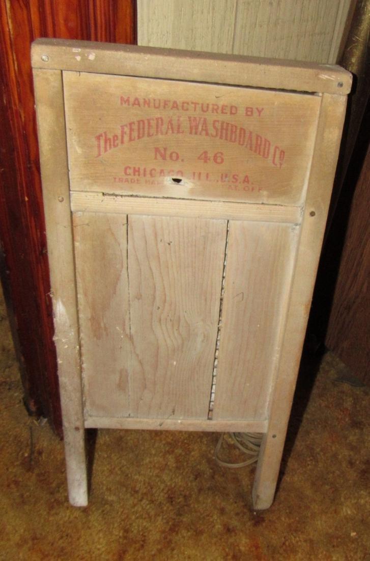 Baby Grand Federal Washboard