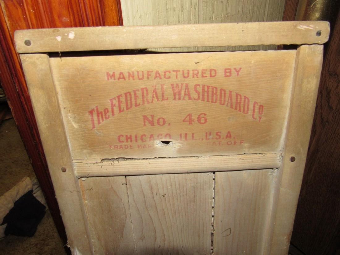 Baby Grand Federal Washboard - 2