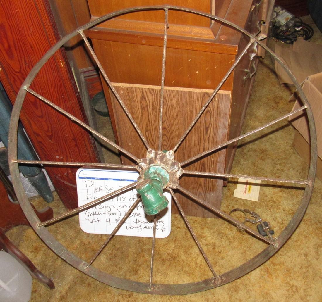 Steel Wagon Wheel