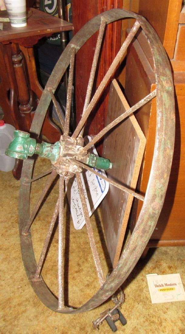 Steel Wagon Wheel - 2
