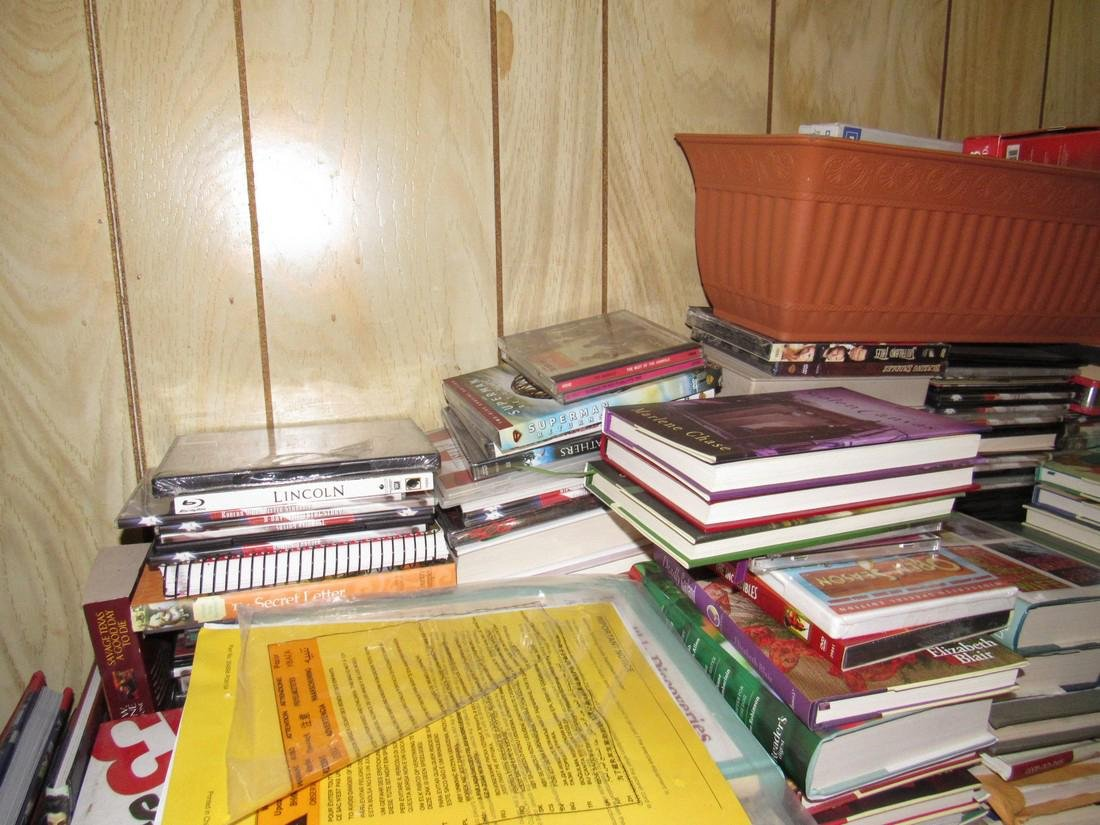 Large Lot of Books - 8