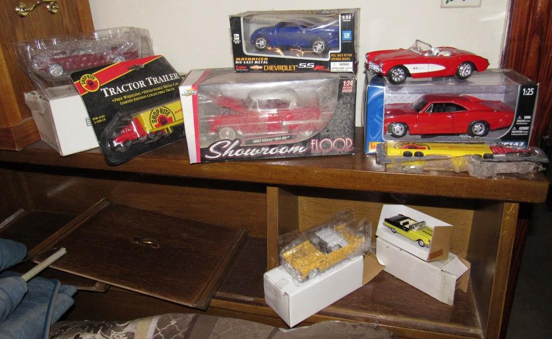 Lot of Die Cast Toy Cars