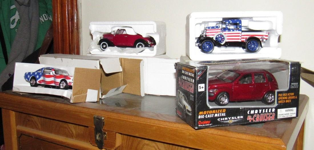 Lot of Die Cast Toy Cars - 2