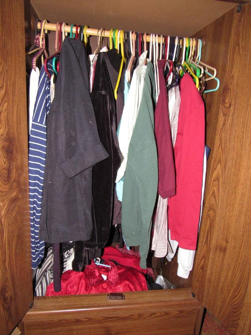 Clothing contents of Wardrobe