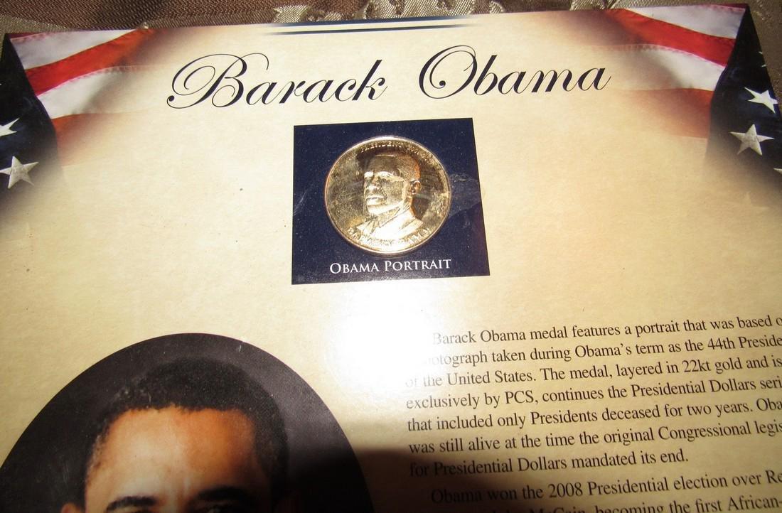 Barack Obama Medal - 2