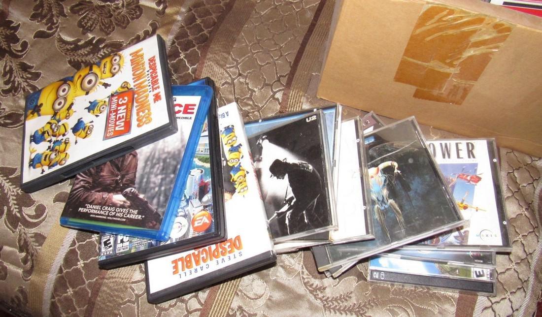 CD's Dvd's & Cassette Tapes - 2