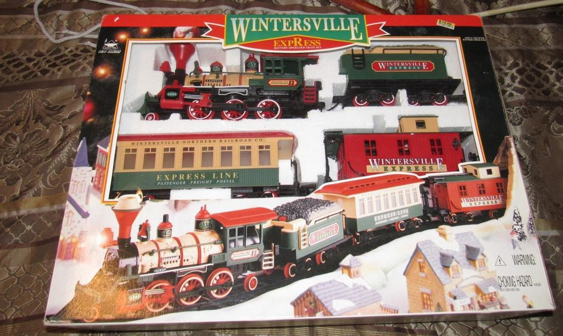 Wintersville Express Train Set
