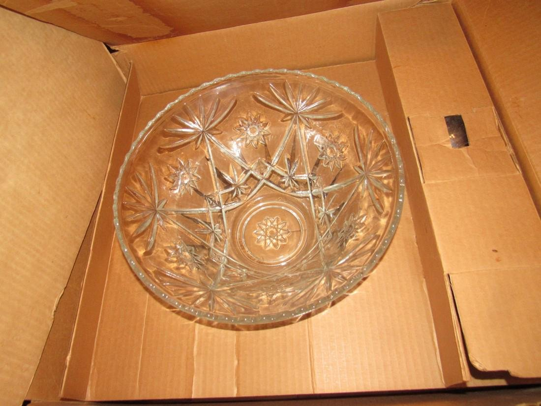 Imperial Glass Punch Bowl Set - 2