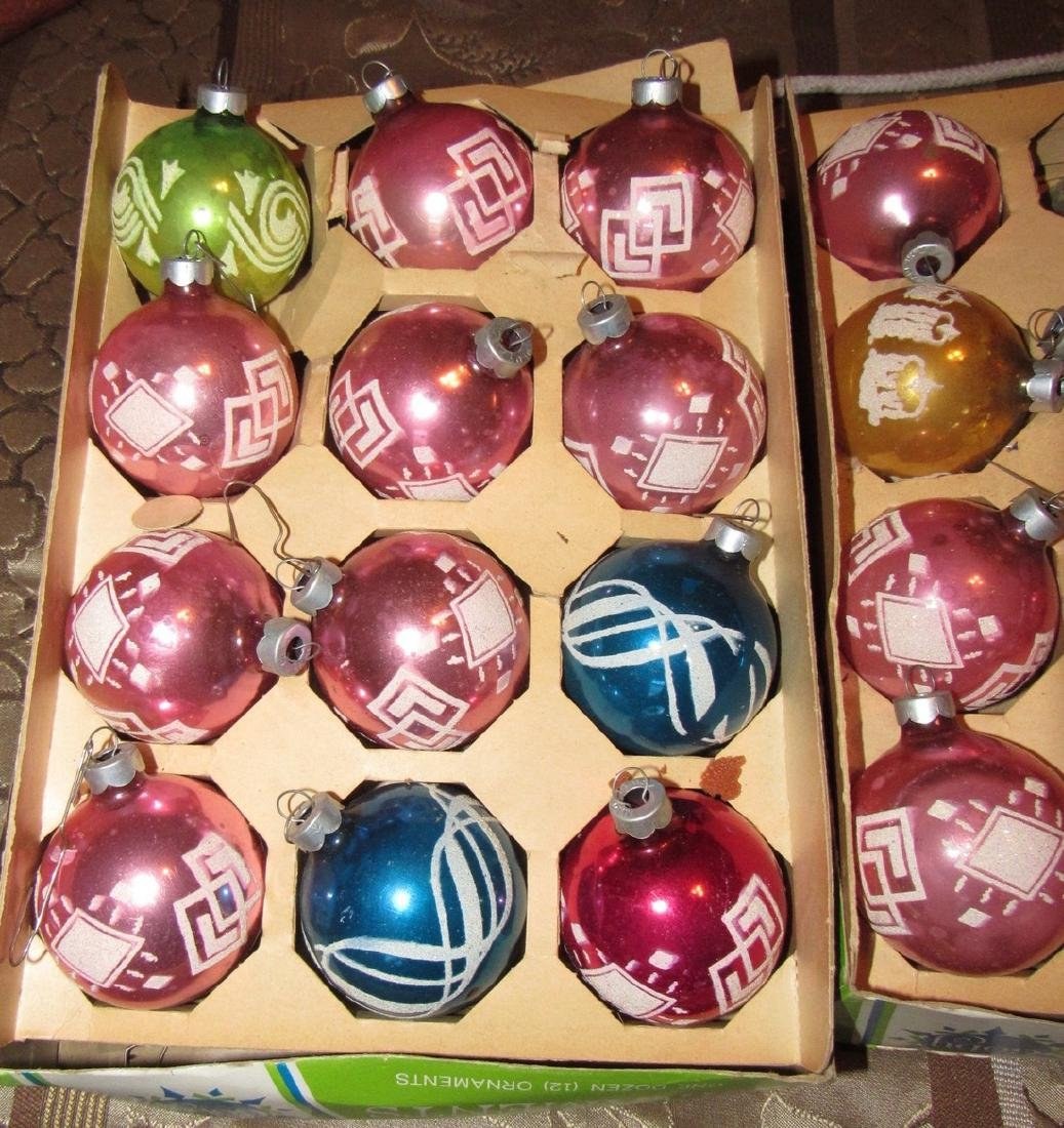 Lot of 35 Vintage Christmas Ornaments - 2