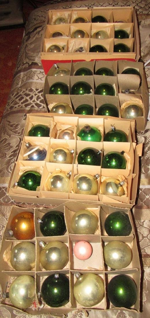 48 Vintage Christmas Ornaments