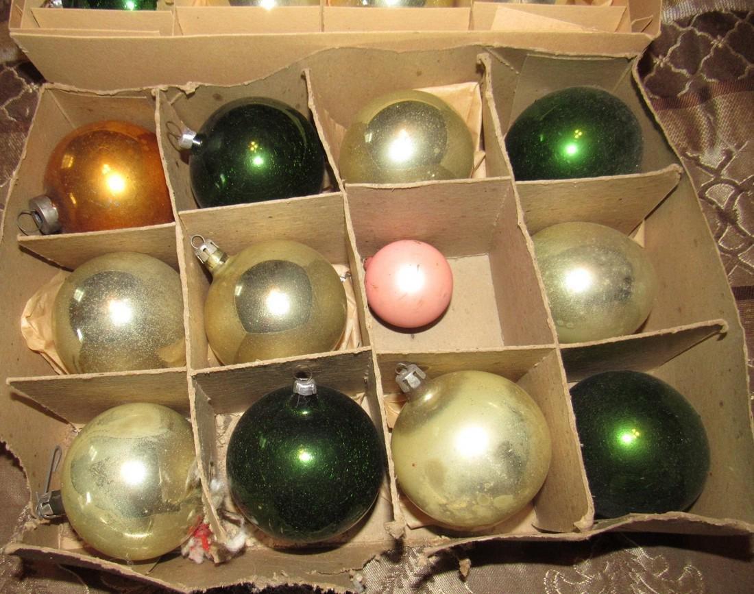 48 Vintage Christmas Ornaments - 2