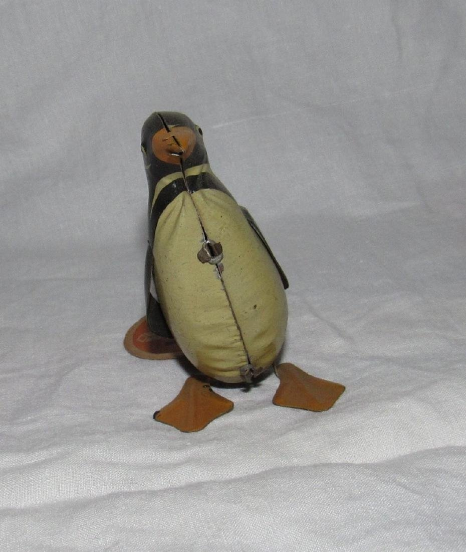 Tin Wind Up Penguin - 2