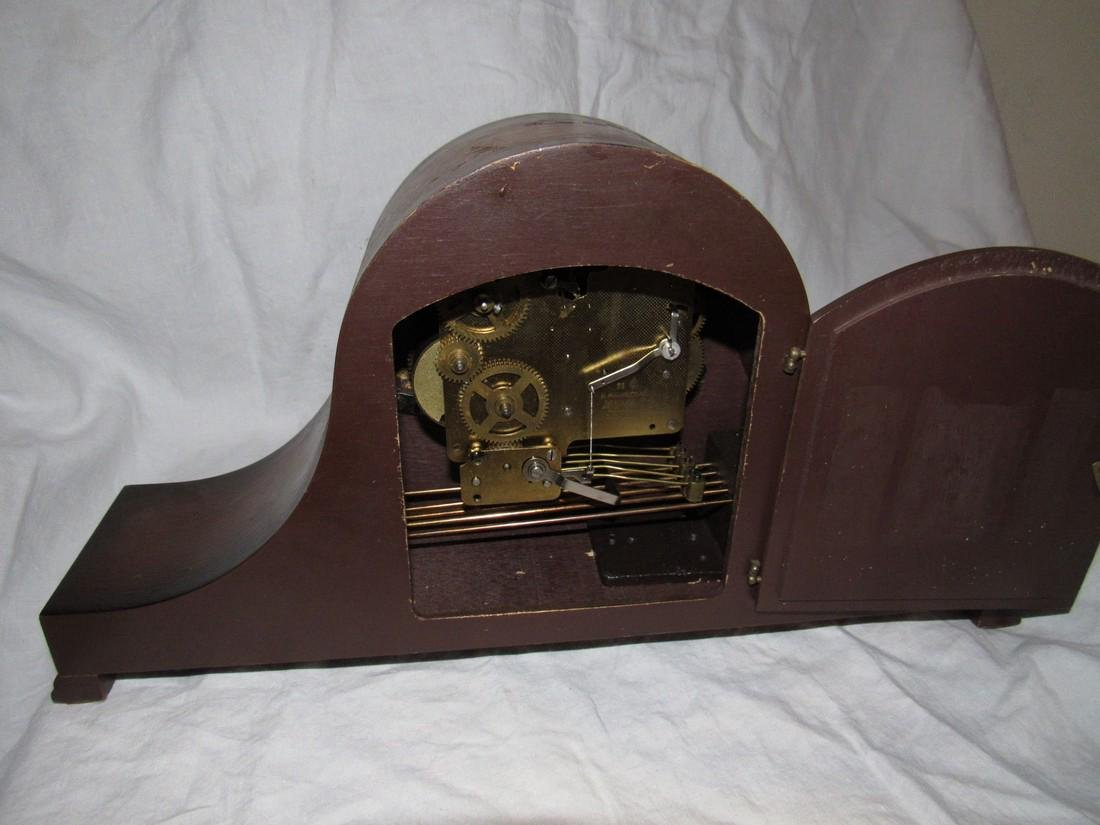 Linden Mantle Clock - 4