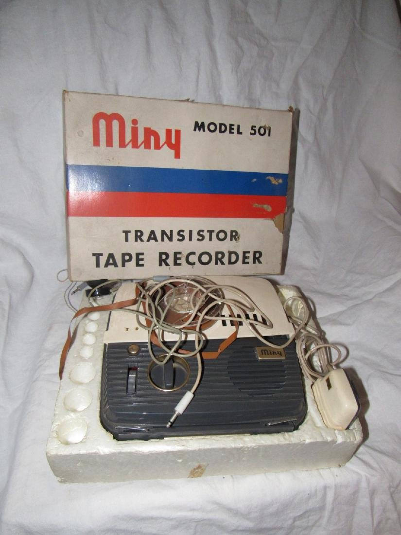 Mini Model 501 Transistor Recorder