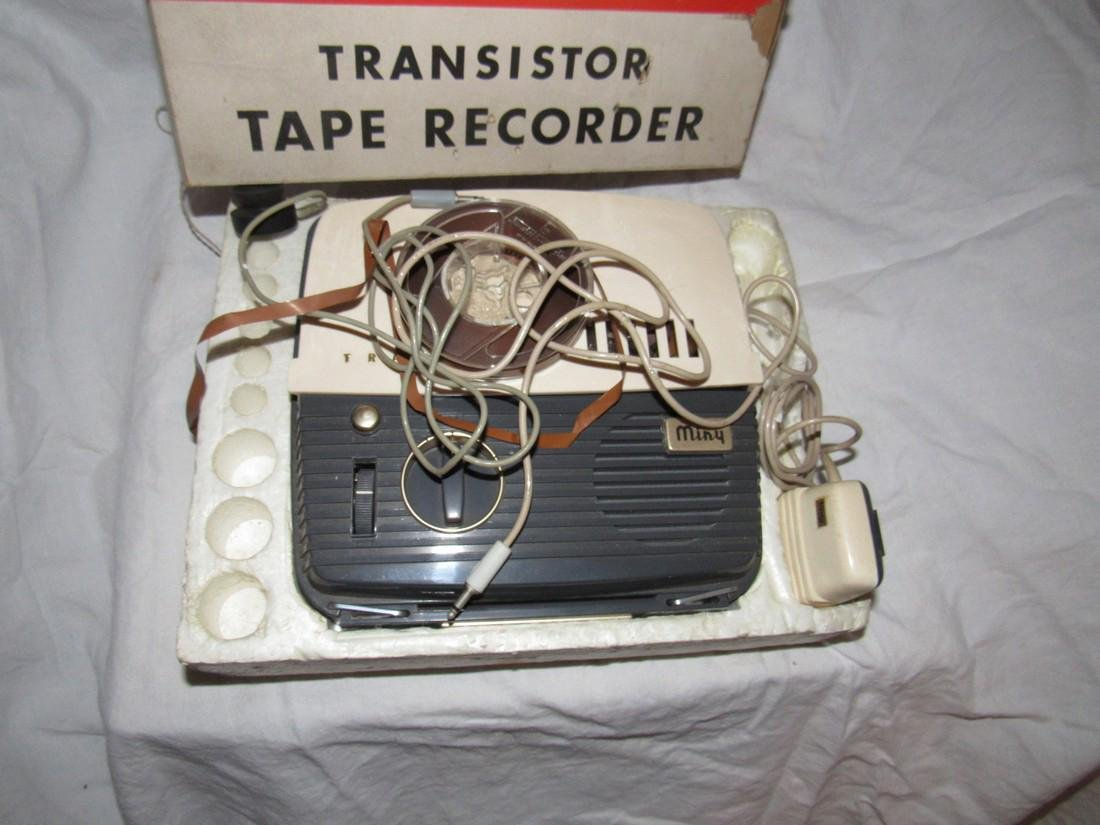 Mini Model 501 Transistor Recorder - 2