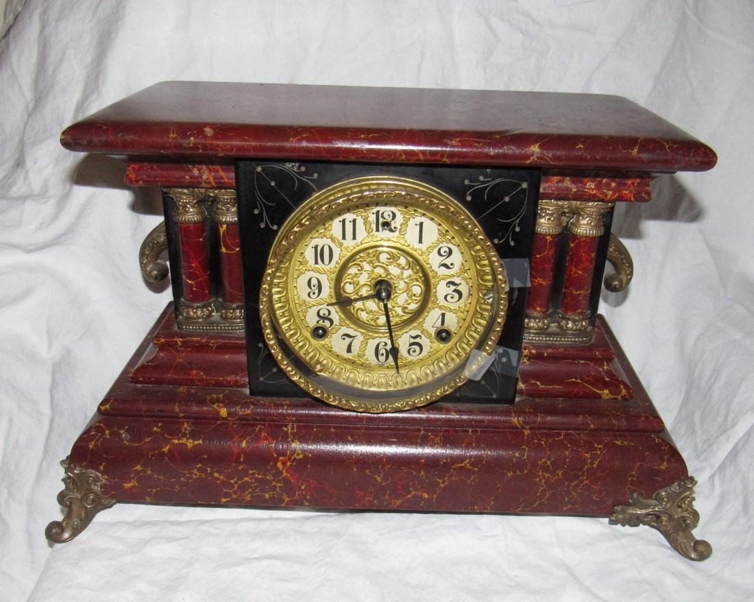 Antique Gilbert Mantle Clock