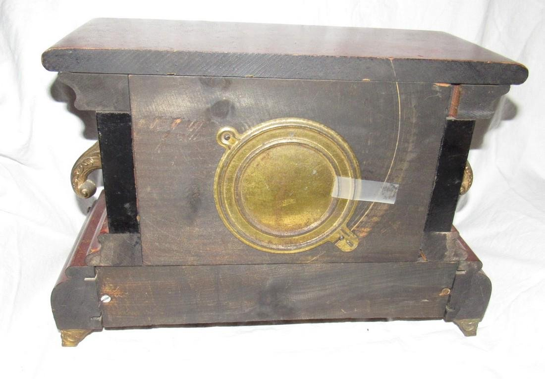 Antique Gilbert Mantle Clock - 2