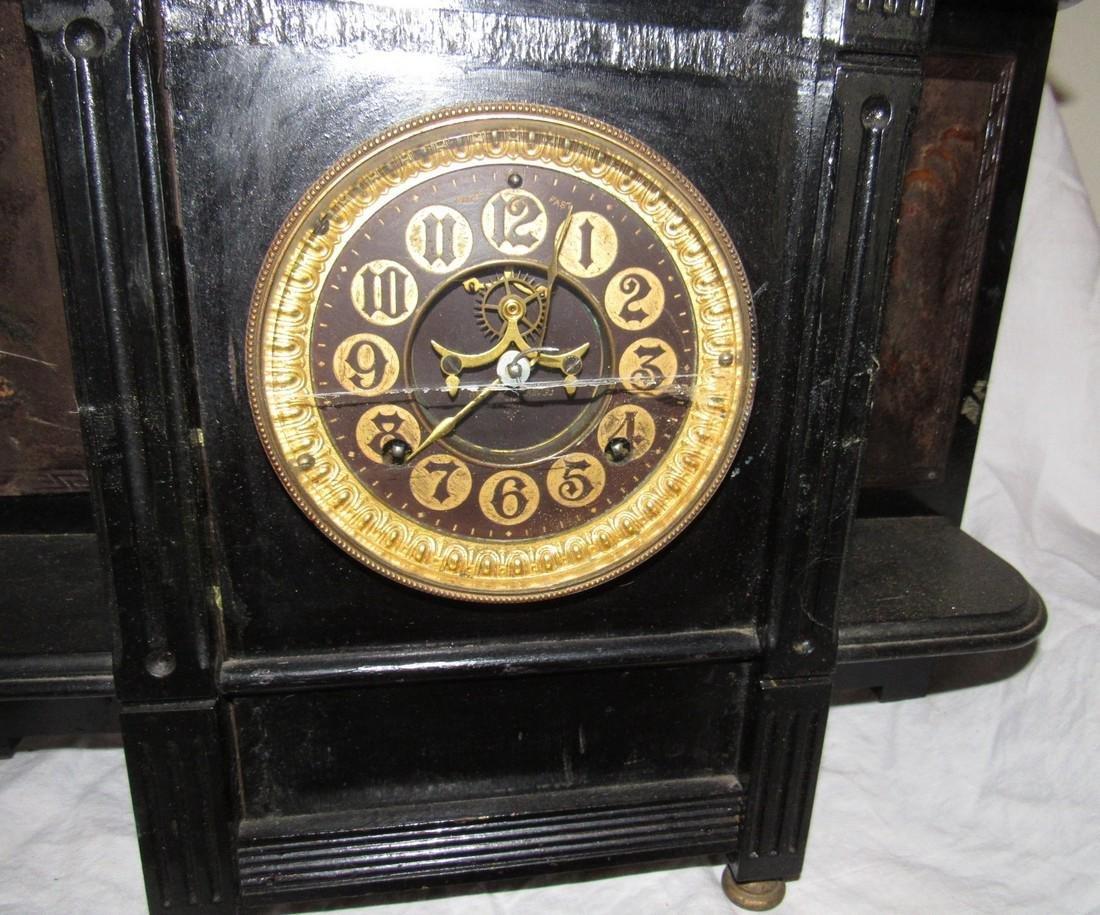 Ansonia Alhambra 8 Day Strike Clock - 6