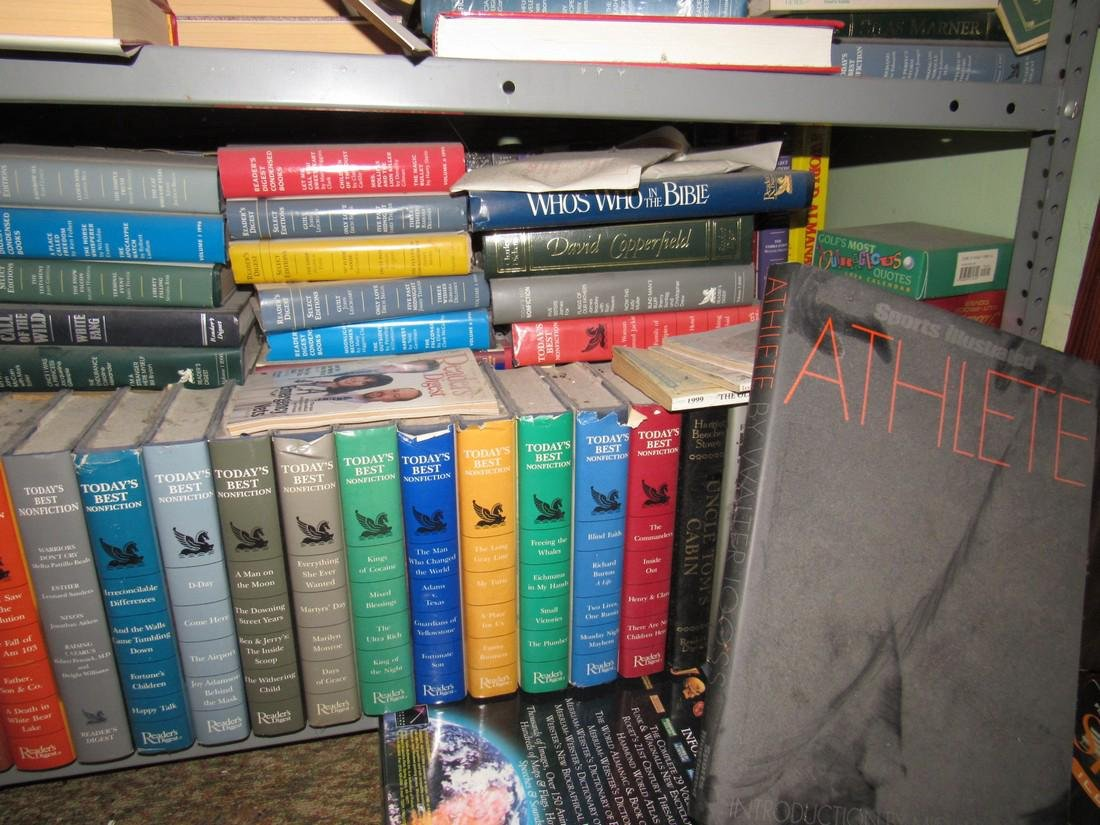 Large Lot of Books - 9
