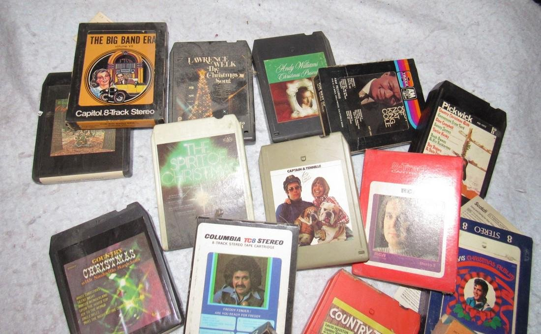 8 Track Tapes - 2