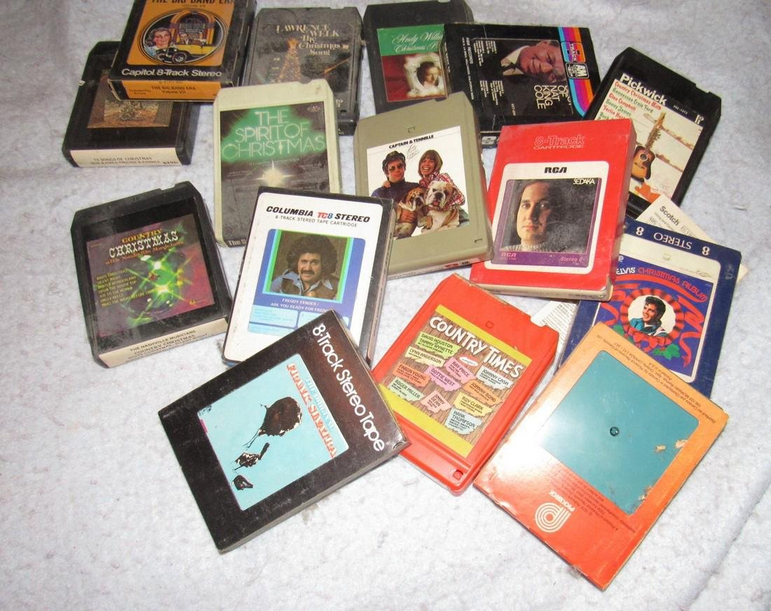 8 Track Tapes - 3