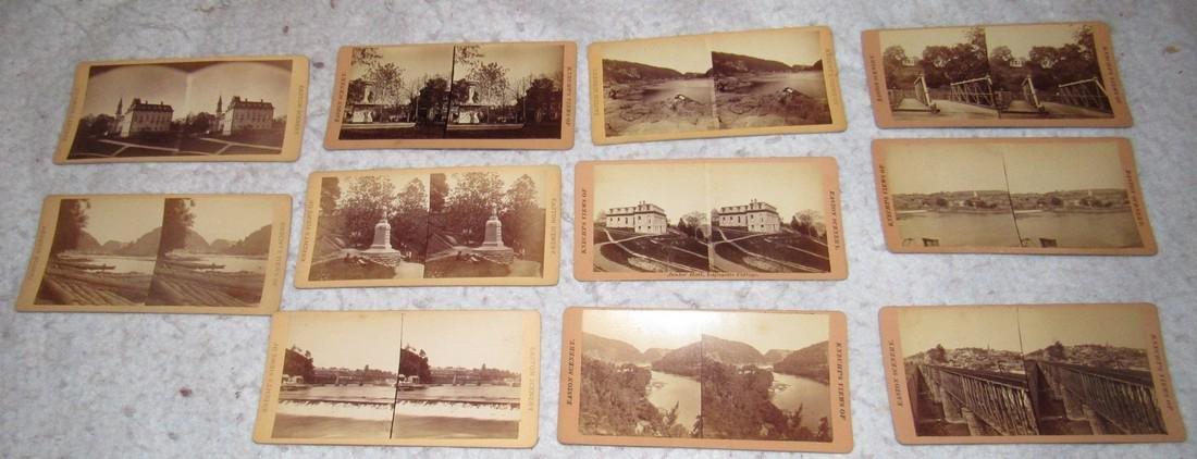 11 Easton PA Stero View Cards