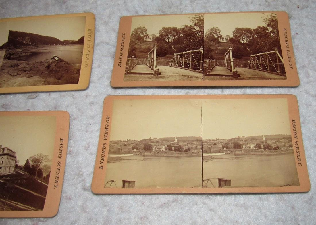 11 Easton PA Stero View Cards - 2