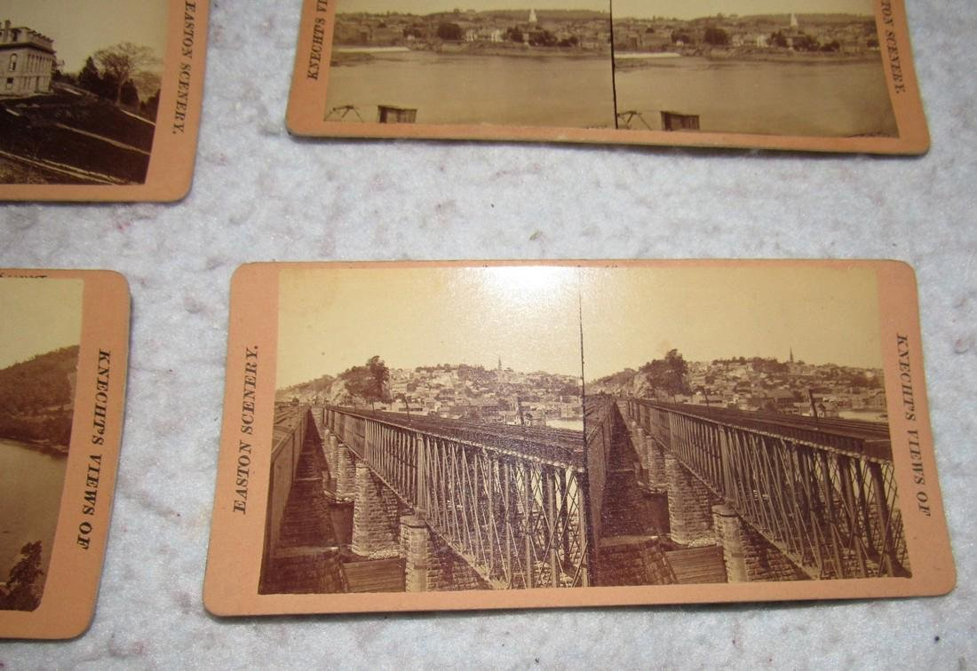 11 Easton PA Stero View Cards - 3