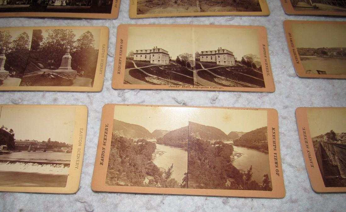 11 Easton PA Stero View Cards - 4