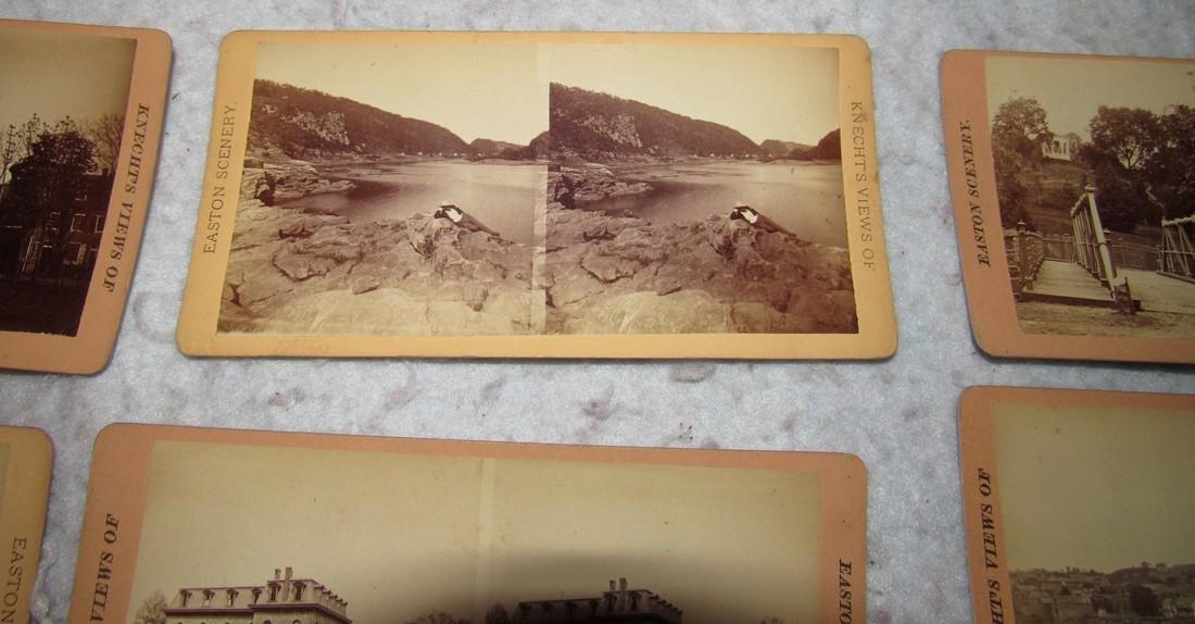 11 Easton PA Stero View Cards - 5