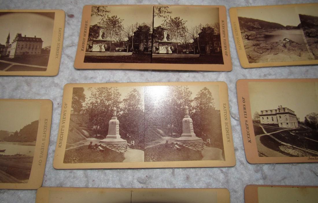 11 Easton PA Stero View Cards - 6