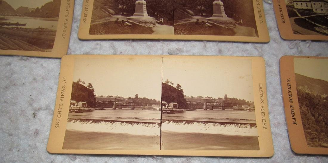 11 Easton PA Stero View Cards - 7