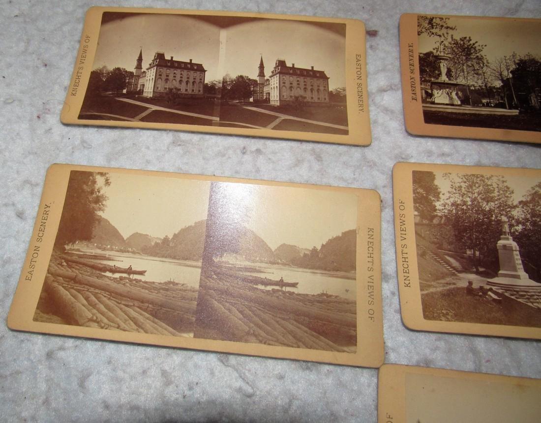 11 Easton PA Stero View Cards - 8