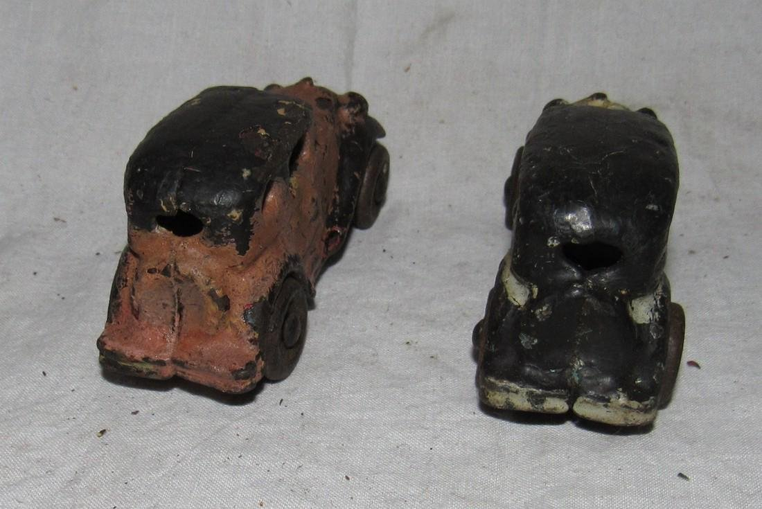 2 Antique Cast Iron Toy Cars - 3