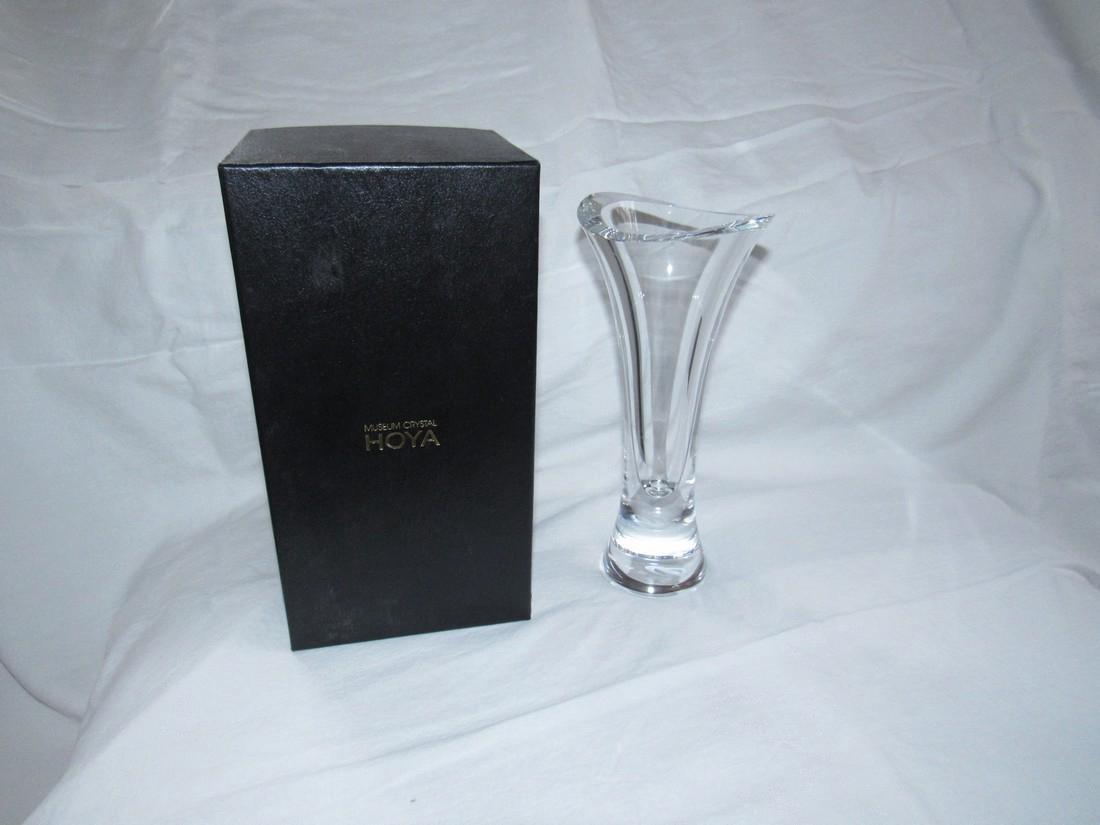 Hoya Tanaka Crystal Vase