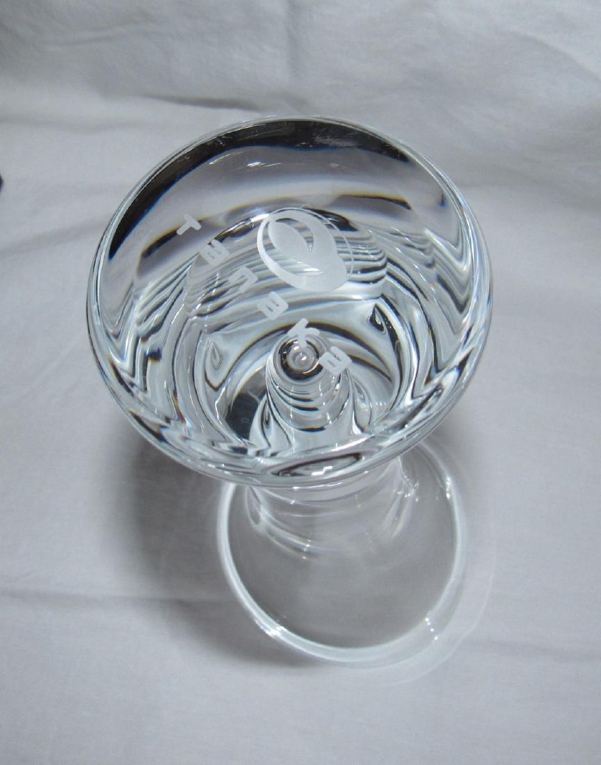 Hoya Tanaka Crystal Vase - 3